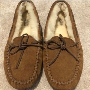 Size 5 UGG slippers (moccasins)